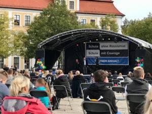 "Landestag ""Schule ohne Rassismus – Schule mit Courage"" in Magdeburg"